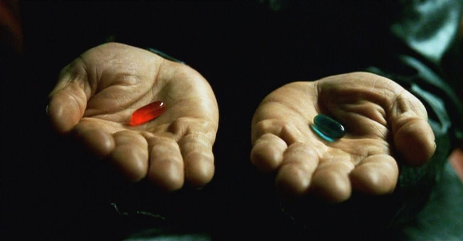 Rote oder blaue Pille