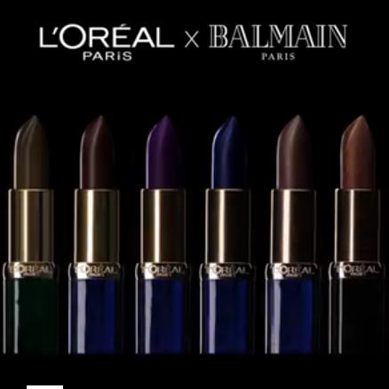 Neuer L'Oreal Color Riche Balmain X-Lippenstift Werbespot mit Tom