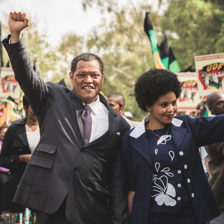 Laurence Fishburne in Madiba