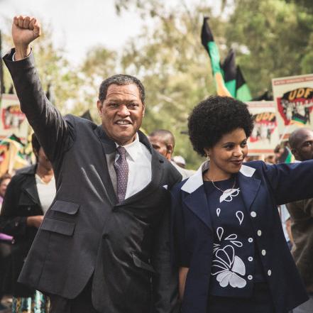 Laurence Fishburne in Madiba