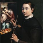 518px-Self-portrait_at_the_Easel_Painting_a_Devotional_Panel_by_Sofonisba_Anguissola