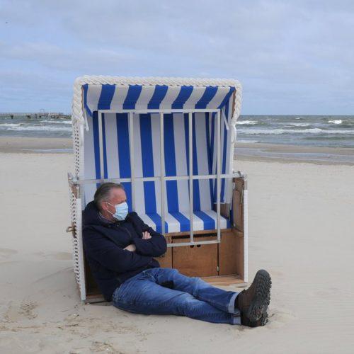 Sehnsucht Ostsee Kachelbild