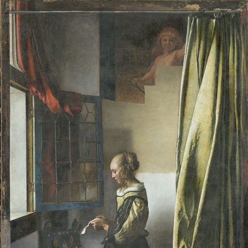 Vermeer_Brieflesendes_Maedchen_Kachel